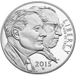 2015 March of Dimes Silver Dollar