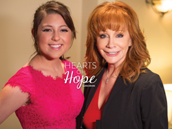 Reba McIntye, Hearts of Hope, Photo courtesy of Nashville Rescue Mission