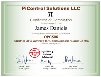 NEW: OPC Training Course Supports Industrial Convergence of