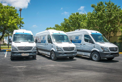 Rodeway Inn and Suites - Fort Lauderdale Airport and Port Everglades Cruise Hotel Updates Shuttle Fleet with New Mercedes-Benz Luxury Vehicles