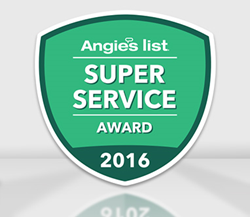 "Super Service Award 2016 from Angies List Earned by Sir Grout Bucks, PA"" title=""Angie's List Super Service Award for Sir Grout of Bucks, PA, for Another Consecutive Year"
