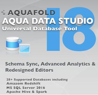 aqua data studio tutorial pdf