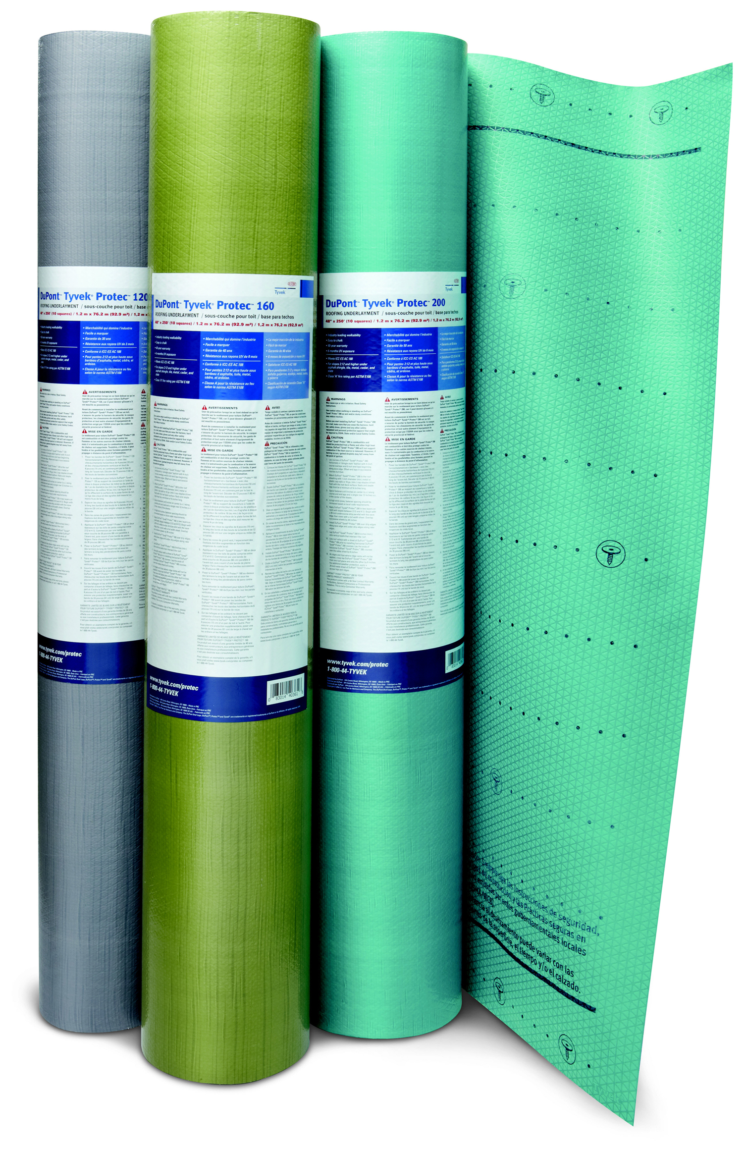Dupont Tyvek 174 Protec Roofing Underlayments Debuts At