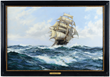 Montague J Dawson's The Chariot of Fame, Stunsails Pulling Realized $78,650.