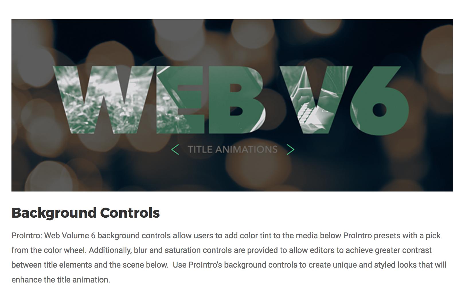 Final Cut Pro X Effects Developer Pixel Film Studios
