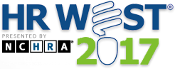 Logo for the HR West 2017 conference