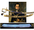 Lot 1231:  Rare and Extraordinary Cased 100 Guinea Lloyd's Patriotic Fund Presentation Sword for Hero Of Battle of Trafalgar, $150,000-250,000.
