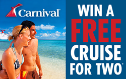 The Cruise Web is Giving Away a 7 Night Carnival Cruise for Two