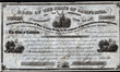 Scripophily.com Discovers Rare California Bond Certificate Issued in 1860 for Expenses Incurred in the Suppression of Indian Hostilities, Signed by Governor John Downey