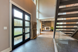 Modern Custom Front Doors by Glenview Haus
