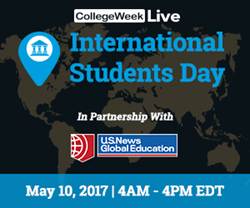 CollegeWeekLive and U.S. News Global Education join together to host virtual fair for international students.
