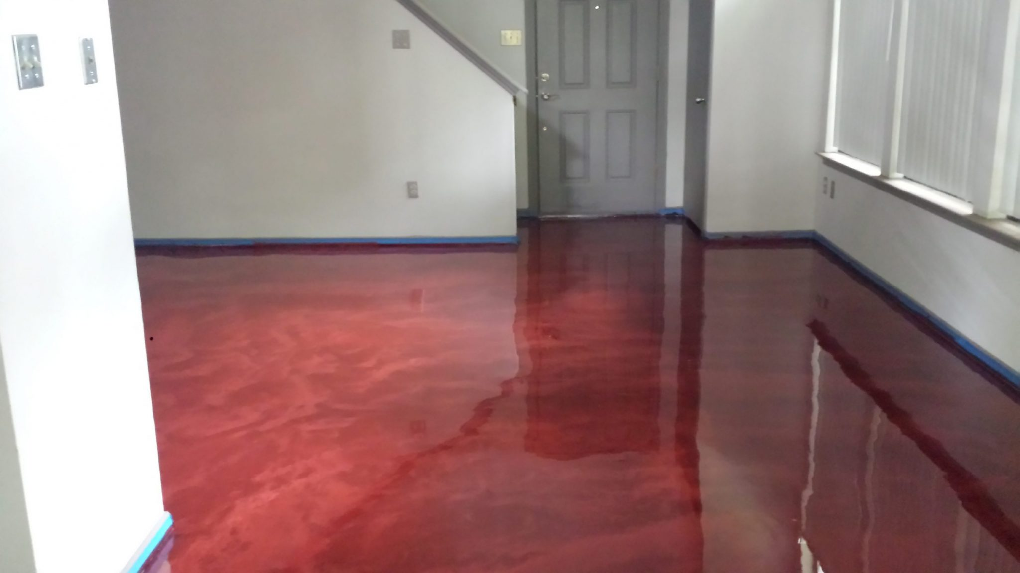 floor quick floors pure youtube instructional video coating metallix watch epoxy metallic