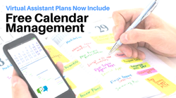 Virtual Assistant Provider Offers Calendar Management with Every Plan