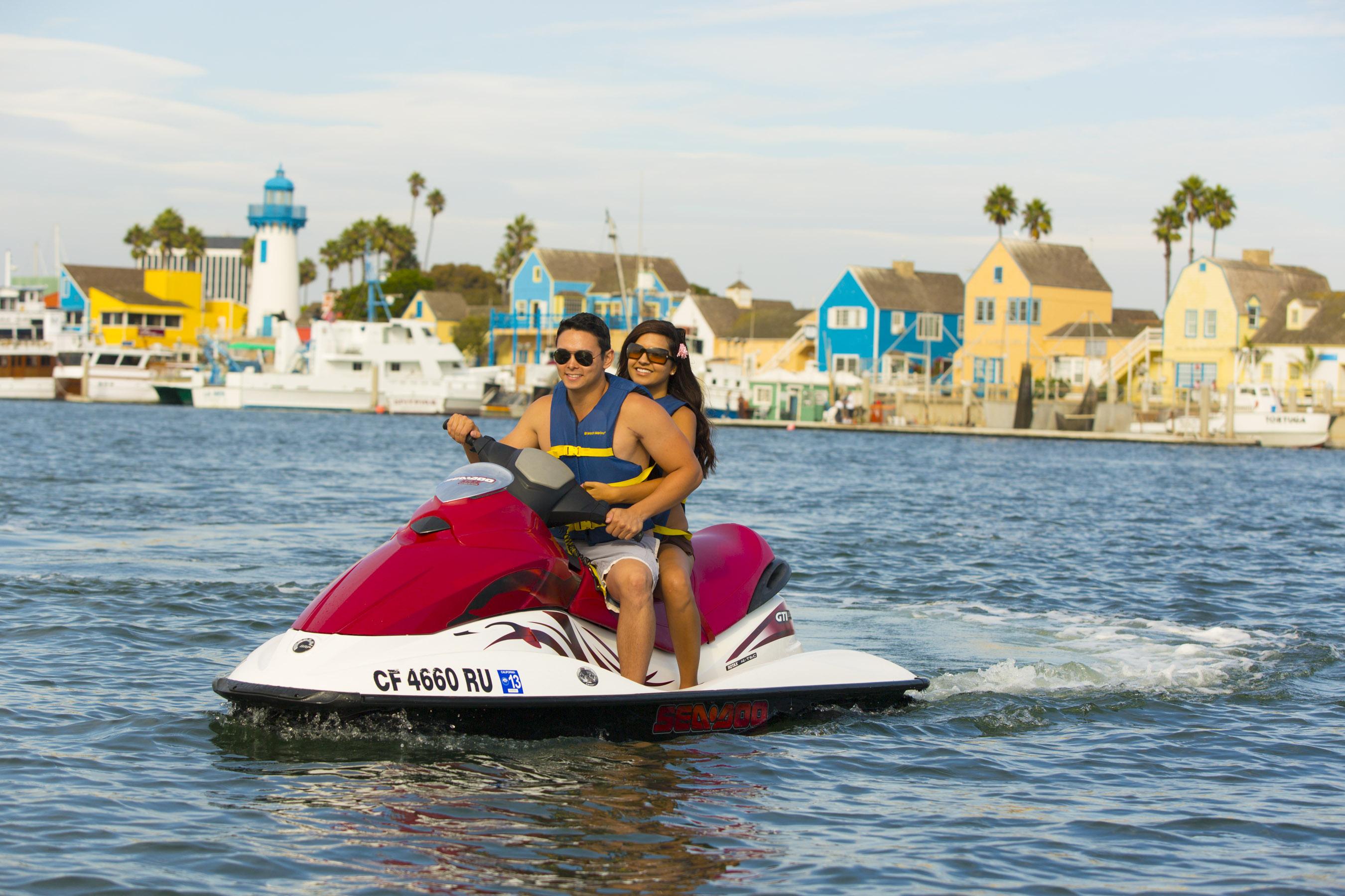 Marina Del Rey S Latest Economic Study Shows 73 Percent Growth In Photo Of Miami Beach Jet Ski