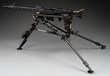 A rare and iconic German MG-42 machine gun on a tripod realized $57,500.
