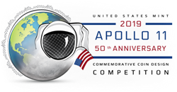 2019 Apollo 11 50th Anniversary Commemorative Coin Design Competition