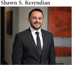 Shawn Kerendian Selected to Daily Journals' Top 40 Under 40