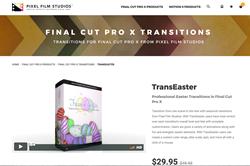 Pixel Film Studios Release TransEaster for Final Cut Pro X