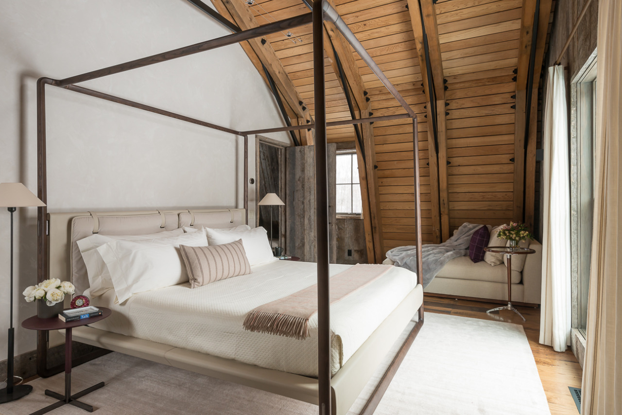 barn interior design. Rush Jenkins Of WRJ Design Created Interiors That Would Complement The Clean Lines And Rustic Materials Barn\u0027s Architecture As Seen In Bedroom Barn Interior