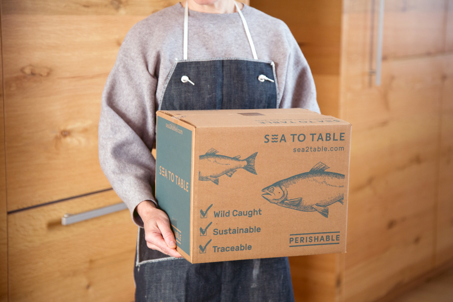 Sea To Table Launches The First National Home Delivery Service Providing Exclusively U S Wild Caught Traceable Restaurant Quality Seafood Direct