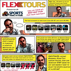 The Story of FlexTours Comic