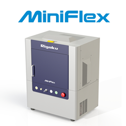 6th generation Rigaku MiniFlex benchtop XRD