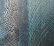 Shown in blue, Pioneer Millworks Shou Sugi Ban Color Char is available in a variety of hues.