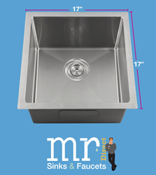 New 1717 Stainless Steel Bar Sink Coming Soon