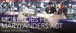 More Jobs for Marylanders Act Photo