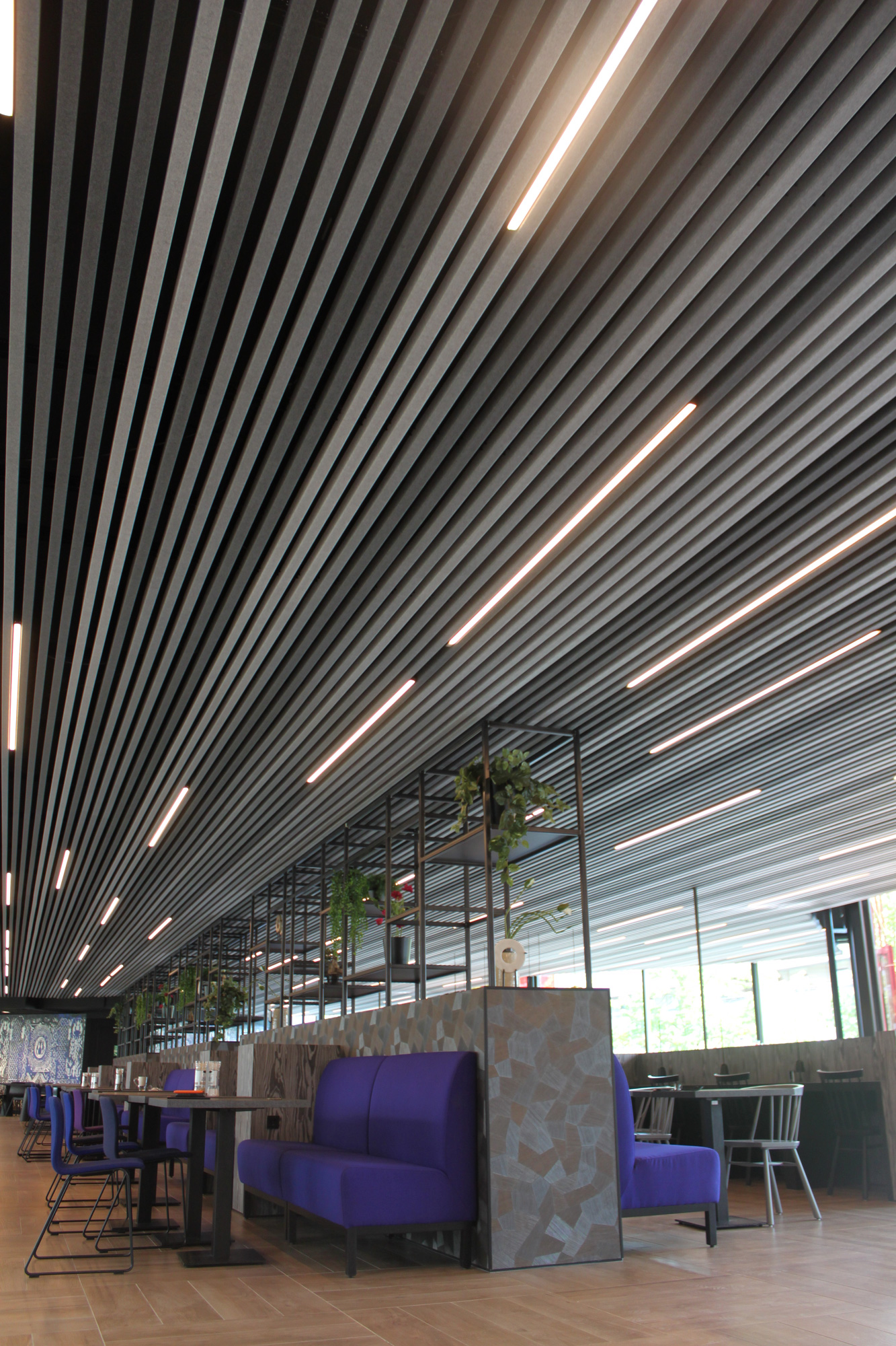 Heartfelt Modular Felt Ceiling System Redefines Ceilings