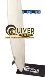 QuiverGrip Surfboard Storage System