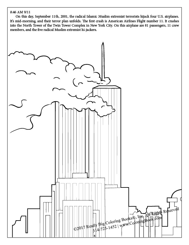 Coloring pages for september 11th coloring pages for September 11 coloring pages