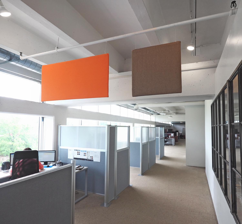 Versare Updates and Enhances Ceiling-Mounted Sound Panels