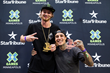 Monster Energy's Colton Walker Takes Gold and Kyle Baldock Takes Bronze in BMX Dirt at X Games Minneapolis 2017
