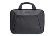 Zip Briefcase—black ballistic nylon with black leather details