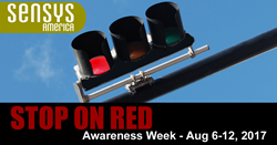 Sensys America National Stop On Red Week is a Zero Fatality Week