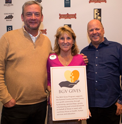 With guidance from Deb Edwards, BGV Developers Mike Dudick and Mike Millisor are helping support local nonprofit organizations in the community.