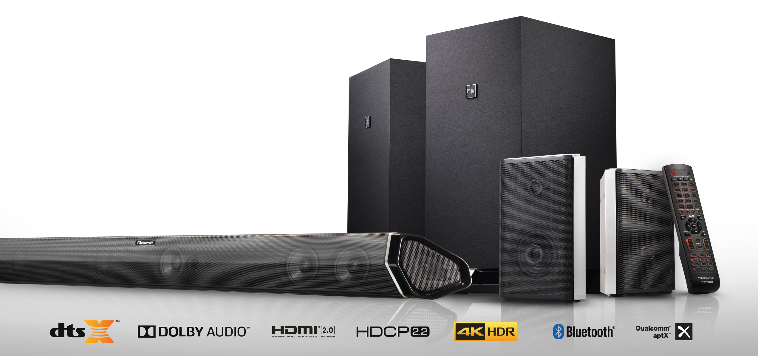 Nakamichi Announces A Quantum Leap In Home Entertainment: Shockwafe 9.2 and 7.2 Ch DTS:X Sound ...