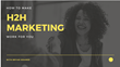How to Make Human-to-Human Marketing Work: Magnificent Marketing Presents a New Webinar on Making the Shift from a B2B to an H2H Approach