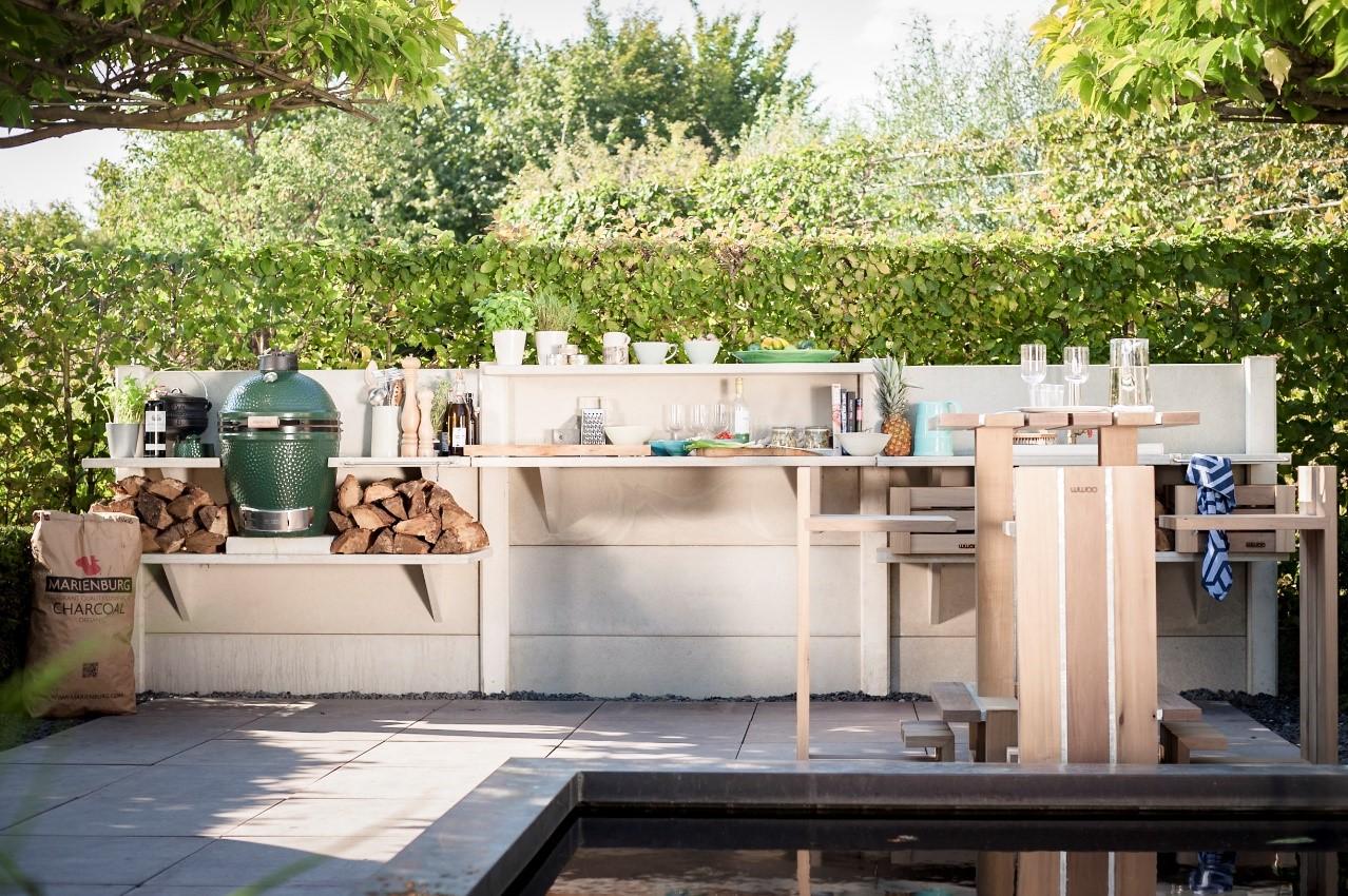4 3 Light Gray Wwoo Concrete Outdoor Kitchen