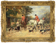 "Heywood Hardy's ""The First of November"" realized $48,400."