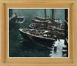 "Jack Lorimer Gray's ""Snowfall, Waterfront"" realized $31,460."
