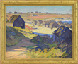"Gertrude Fiske's ""The Old Cove, Ogunquit"" realized $24,200."