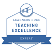 Learners Edge Badge - Teaching Excellence