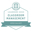 Learners Edge Badge - Classroom Management