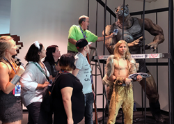 Battlefield Earth's 'Terl' at DragonCon