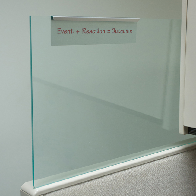 Nap Nameplates Releases Innovative New Glass Cubicle Name