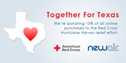NewAir Appliances Donates Online Profits to Hurricane Harvey Relief Fund
