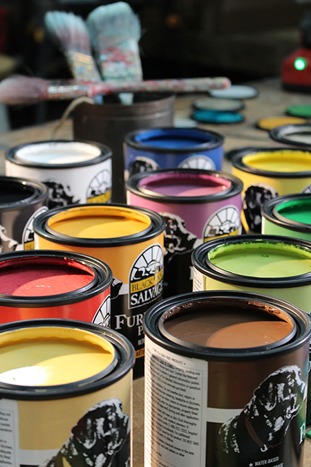 Woodcraft Adds Half Pints To Black Dog Salvage Furniture Paint Line