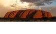 Sunset on Ayers Rock